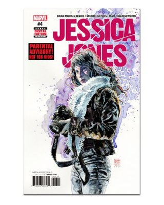 Ímã Decorativo Capa de Quadrinhos - Jessica Jones - CQM83