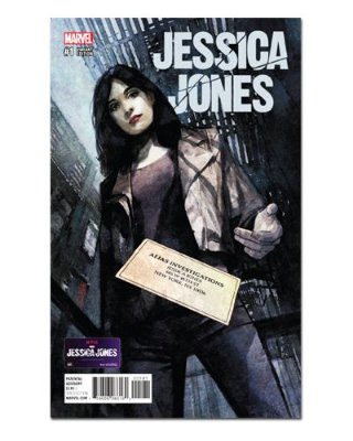 Ímã Decorativo Capa de Quadrinhos - Jessica Jones - CQM89