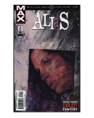 Ímã Decorativo Capa de Quadrinhos - Jessica Jones - CQM90