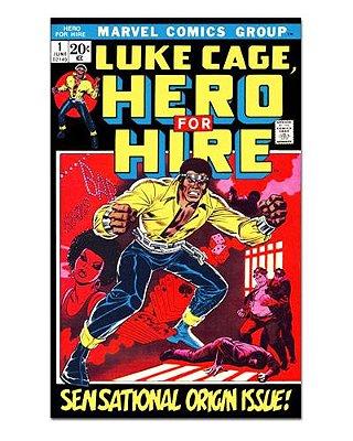 Ímã Decorativo Capa de Quadrinhos - Luke Cage - CQM101