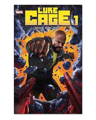 Ímã Decorativo Capa de Quadrinhos - Luke Cage - CQM107