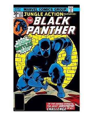 Ímã Decorativo Capa de Quadrinhos - Pantera Negra - CQM111