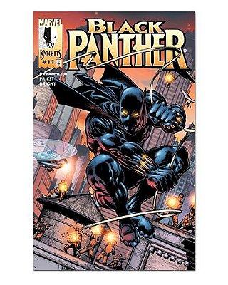 Ímã Decorativo Capa de Quadrinhos - Pantera Negra - CQM113