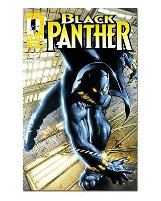 Ímã Decorativo Capa de Quadrinhos - Pantera Negra - CQM114