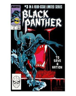 Ímã Decorativo Capa de Quadrinhos - Pantera Negra - CQM117