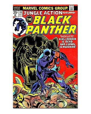 Ímã Decorativo Capa de Quadrinhos - Pantera Negra - CQM120