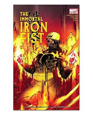Ímã Decorativo Capa de Quadrinhos - Punho de Ferro - CQM125