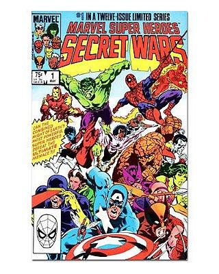 Ímã Decorativo Capa de Quadrinhos - Sagas Marvel - CQM141