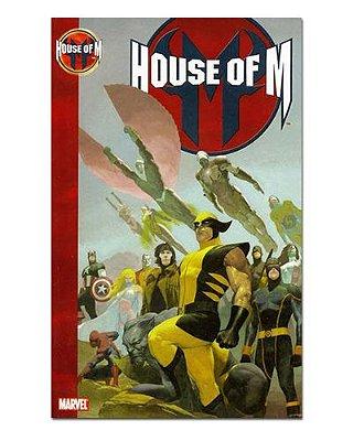 Ímã Decorativo Capa de Quadrinhos - Sagas Marvel - CQM146