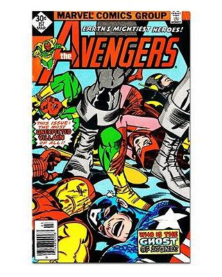 Ímã Decorativo Capa de Quadrinhos - Vingadores - CQM151