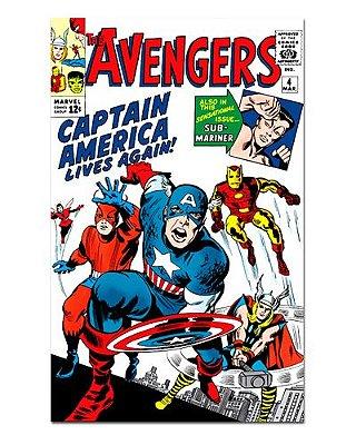 Ímã Decorativo Capa de Quadrinhos - Vingadores - CQM157