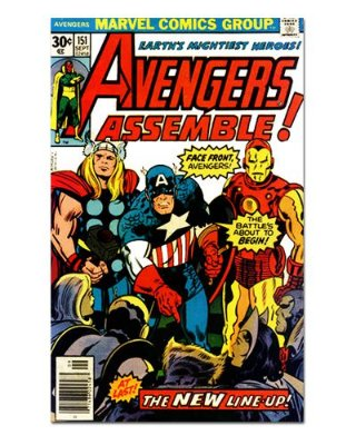Ímã Decorativo Capa de Quadrinhos - Vingadores - CQM158