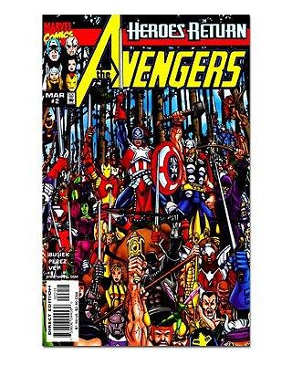 Ímã Decorativo Capa de Quadrinhos - Vingadores - CQM159