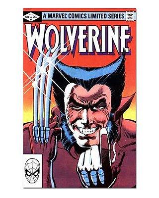 Ímã Decorativo Capa de Quadrinhos - Wolverine - CQM161