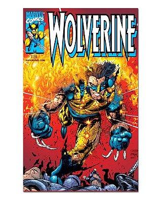 Ímã Decorativo Capa de Quadrinhos - Wolverine - CQM164