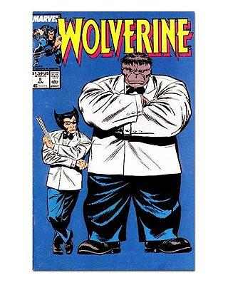 Ímã Decorativo Capa de Quadrinhos - Wolverine - CQM167