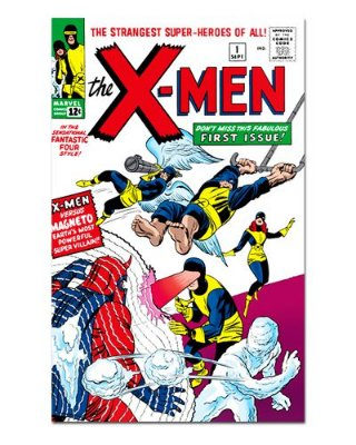 Ímã Decorativo Capa de Quadrinhos - X-Men - CQM172