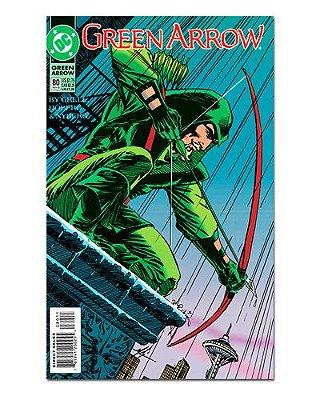 Ímã Decorativo Capa de Quadrinhos - Arqueiro Verde - CQD02