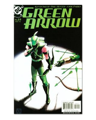 Ímã Decorativo Capa de Quadrinhos - Arqueiro Verde - CQD06