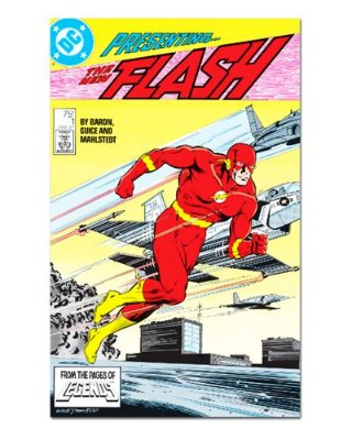 Ímã Decorativo Capa de Quadrinhos - The Flash - CQD31