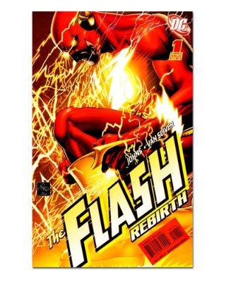 Ímã Decorativo Capa de Quadrinhos - The Flash - CQD34