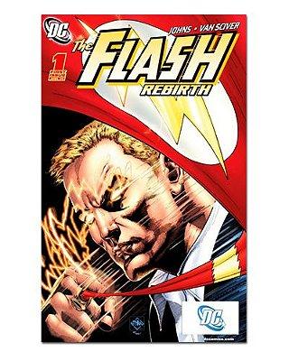 Ímã Decorativo Capa de Quadrinhos - The Flash - CQD38