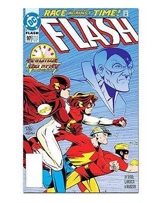 Ímã Decorativo Capa de Quadrinhos - The Flash - CQD39