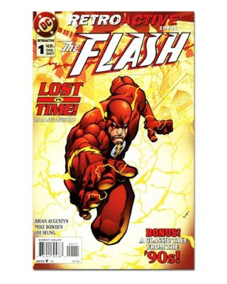 Ímã Decorativo Capa de Quadrinhos - The Flash - CQD40