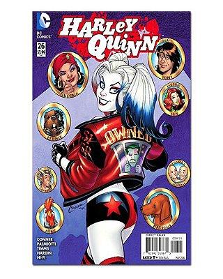 Ímã Decorativo Capa de Quadrinhos - Harley Quinn - CQD44