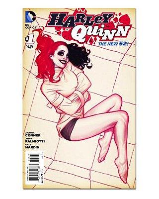 Ímã Decorativo Capa de Quadrinhos - Harley Quinn - CQD47