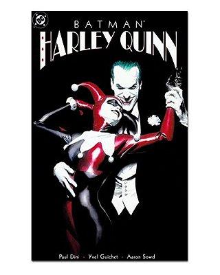 Ímã Decorativo Capa de Quadrinhos - Harley Quinn - CQD48