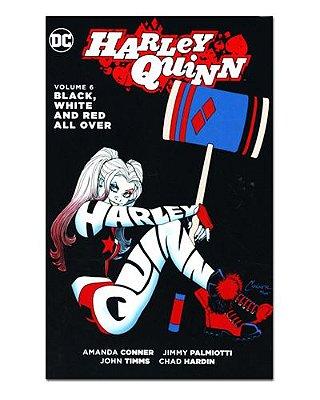 Ímã Decorativo Capa de Quadrinhos - Harley Quinn - CQD49