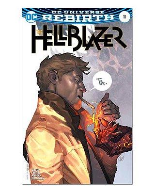 Ímã Decorativo Capa de Quadrinhos - Hellblazer - CQD56