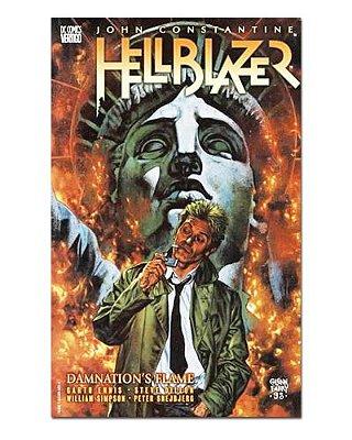 Ímã Decorativo Capa de Quadrinhos - Hellblazer - CQD58