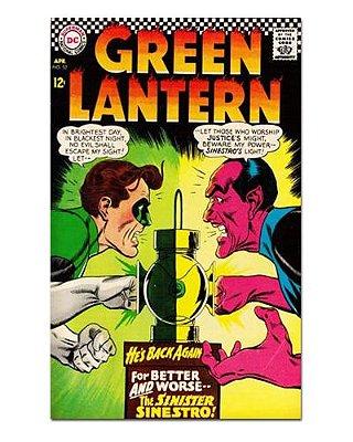 Ímã Decorativo Capa de Quadrinhos - Lanterna Verde - CQD67