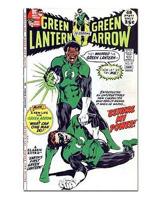 Ímã Decorativo Capa de Quadrinhos - Lanterna Verde - CQD70