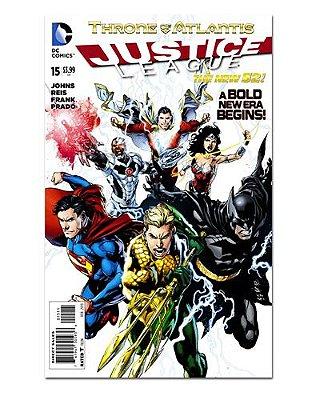 Ímã Decorativo Capa de Quadrinhos - Liga da Justiça - CQD77