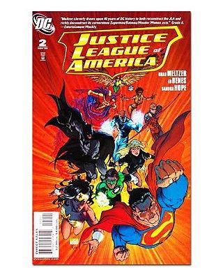 Ímã Decorativo Capa de Quadrinhos - Liga da Justiça - CQD78