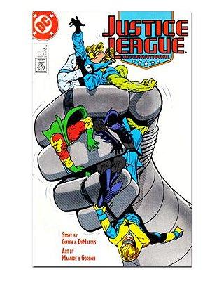 Ímã Decorativo Capa de Quadrinhos - Liga da Justiça Internacional - CQD88