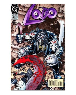 Ímã Decorativo Capa de Quadrinhos - Lobo - CQD100