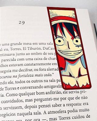 Marcador De Página Magnético Monkey D. Luffy - One Piece - MAN547