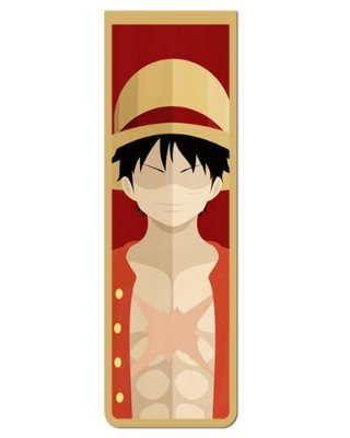 Marcador De Página Magnético Monkey D. Luffy - One Piece - MAN570