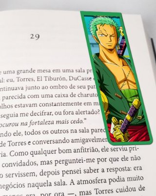 Marcador De Página Magnético Roronoa Zoro - One Piece - MAN602