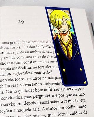 Marcador De Página Magnético Sanji - One Piece - MAN605