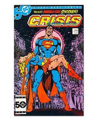 Ímã Decorativo Capa de Quadrinhos Sagas DC - CQD111