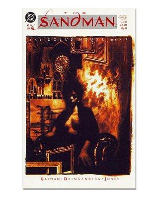 Ímã Decorativo Capa de Quadrinhos Sandman - CQD123