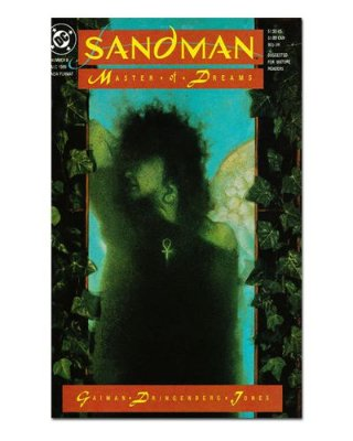 Ímã Decorativo Capa de Quadrinhos Sandman - CQD126