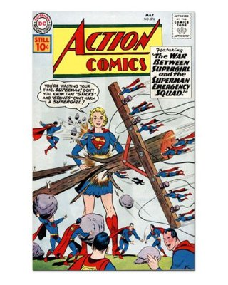 Ímã Decorativo Capa de Quadrinhos Supergirl - CQD142