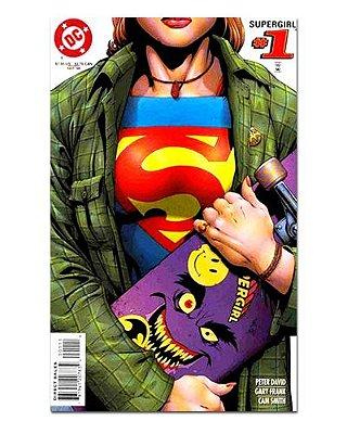 Ímã Decorativo Capa de Quadrinhos Supergirl - CQD143