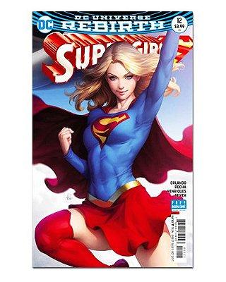 Ímã Decorativo Capa de Quadrinhos Supergirl - CQD150